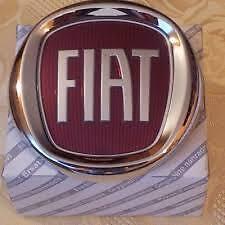 LOGO STEMMA FREGIO ROSSO ANTERIORE DIAMETRO 95MM FIAT PUNTO EVO 09> 2009>