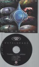 CD--METALHEADS--TIMELESS ALBUM SAMPLER--PROMO