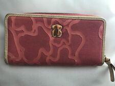 Genuine Tous Zip Around Pink Wallet In Light Pink