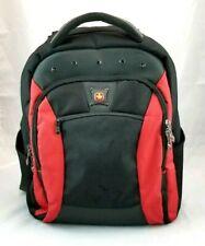 SWISSGEAR Wenger Backpack Computer Laptop Student School Red & Black Padded Bag
