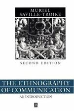 The Ethnography of Communication: An Introduction (Language in Society, 3)
