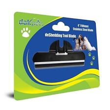 DakPets Dogs Cats Grooming Replacement Comb Deshedding Tool Stainless Steel NEW