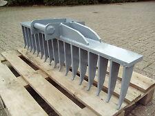 MVS Roderechen 17 Zahn Baggerharke MS01 zur Flächenbearbeitung 1200mm