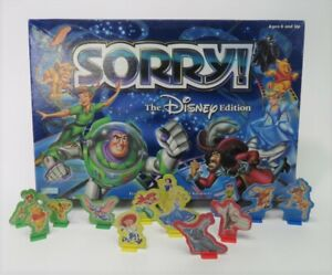 2001 Hasbro Disney Edition Sorry! Game Parts Pieces Replacements - You Choose