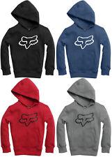 Fox Racing Sharpstreak Zip Front Fleece Hoody Red All Sizes Sweatshirt Hoodie