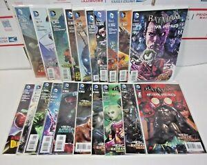 Batman Arkham Unhinged #1-20 Complete High Grade Run Lot DC Comics