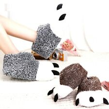 Winter Warm Home Slipper Animal Panda Paw Plush Thermal Soft Cotton Indoor Plush