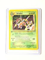 ARIADOS - 1st Edition Neo Genesis Set - 27/111 - Uncommon - Pokemon Card - NM