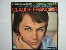 CLAUDE FRANCOIS EP FRANCE COMME D'HABITUDE