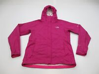 THE NORTH FACE Jacket Women's Size S Hooded Trail Purple HYVENT 2.5L Rain