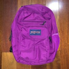 JanSport Digital Student Backpack Men's Women's Purple Laptop Pocket
