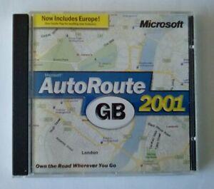 Microsoft AutoRoute TH 2001 Auto Route PC