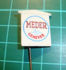 Meder Jenever Genever - stick pin badge 60's speldje