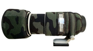 Canon RF 70 200 f2.8 Neoprene lens protection Premium range fabric