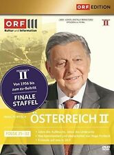 ÖSTERREICH II, Folge 25-32 (Hugo Portisch, Sepp Riff) 4 DVDs NEU+OVP
