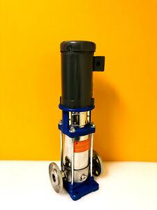 Goulds ITT 2SVBK6 6 to 40 GPM Flow Range, Vertical Multistage Pump. New!