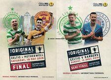 Celtic v Motherwell - Scottish Cup Final - 19 May 2018 + Semi-Final v Rangers