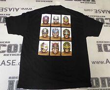 Rey Mysterio Signed WWE Shirt PSA/DNA COA Pro Wrestling Masks 619 XL Autograph