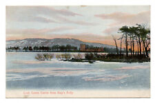 More details for loch leven castle from roy's folly - posted 1907 to miss lilian roger