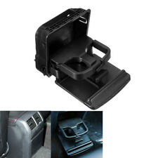 Rear Armrest Central Cup Holder Fit For VW Jetta MK5 Golf Jetta 1K0862532 Black