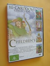 Children's 10 Cartoon Collection - DVDs (All Regions) - NEW & SEALED - Freepost