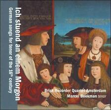 German Songs for Tenor of the 16th Century, New Music