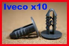 10 van plastic fastener retainer interior fascia panel boarding clips