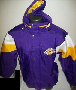 LOS ANGELES LAKERS STARTER Hooded Jacket 2020 S, M, L, XL, 2X