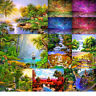 Full Drill Landscape DIY 5D Diamond Embroidery Painting Cross Craft Stitch Decor