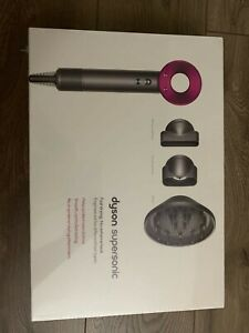 Dyson Supersonic Hair Dryer - Iron/Fuchsia
