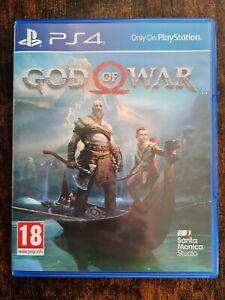 God Of War Game (PlayStation 4, 2018)