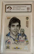 2007 Select Sketch Gem Johnathan Thurston Graded Mint