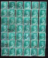 España : 1977 ( Edifil 2391 ) Lote 42 sellos 4 Pesetas JUAN CARLOS I ( usados )