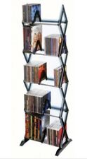 Atlantic Mitsu 130 CD/90 DVD/105 BluRay/Games 5-Tier Media Rack *BRAND NEW*