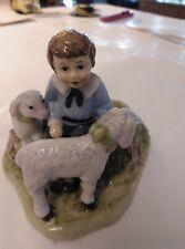 Villeroy & Boch Farmers Spring Decoration Figurina bimbo con pecorelle
