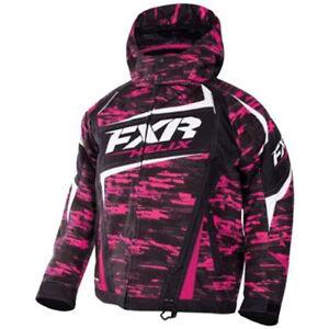 FXR™ Youth  Helix Fuchsia / Cascade Insulated Snowmobile Jacket 170403-9008-XX