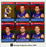 2010 AFL Teamcoach Trading Card Silver Parallel Team set Western Bulldogs (13)