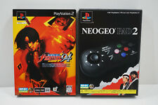 King Of Fighters 94 + Neo Geo Pad 2 Controller PlayStation 2 Limited Edition PS2