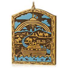 Hallmark 2015 Noahs Ark Painted Wood NIB Keepsake Christmas Ornament