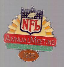 1985 NFL Annual Meeting Pin Phoenix Arizona Football