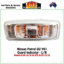 Indicator Guard Repeater Blinker Light fit Nissan GU Patrol Y61 CLEAR