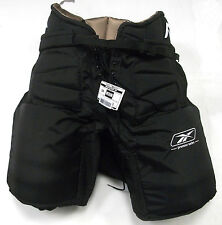 Reebok Premier NHL hockey goalie pants senior medium black Boston Pro Return new