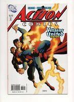 Action Comics #831 1ST BLACK ADAM vs SUPERMAN COV/STORY DC 2005 The ROCK Johnson