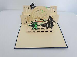 3d Popup Starwar Card