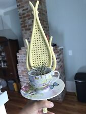 Reduced Ooak New Air Plant Wall Display Succulent Floral Plants Teacup Planter