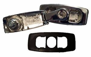 Chrome Tailgate Window Crank Handle with Pad fits Blazer, Suburban, & Jimmy
