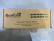 QualGear QG-PRO-PM-50-B, Universal Projector Mount - Black