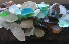 Aloha genuine surf tumbled beach sea glass 50+ lot Hawaii art craft collectible