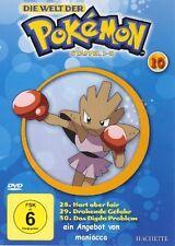 DIE WELT DER POKEMON 10 | 1. Staffel / 28-30 |  DVD #ZZ | Pokémon - wie NEU