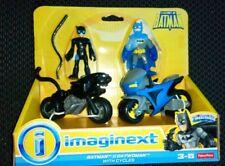 Imaginext Dc Batman Y Catwoman ciclos Gotham City Nuevo Y en Caja Envío Rápido